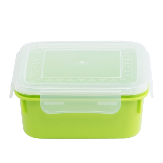 Food Storage Containers with Lids - Airtight Leak Proof Easy Snap Lock and BPA Free Clear Plastic Container Set for Kitchen Use