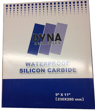 Dyna dry and wet sand paper/waterproof abrasive paper Singapore