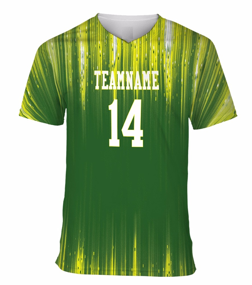 notich Sublimated V-Neck Custom football Soccer Jerseys & Custom Soccer Uniforms