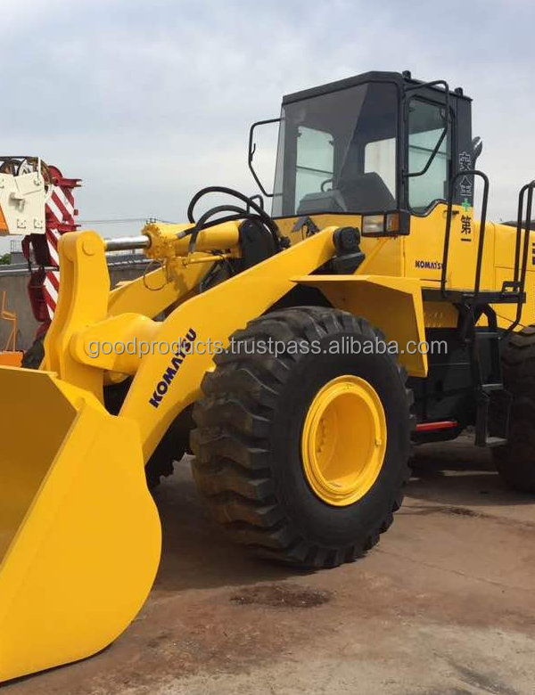 Used komatsu wheel loader wa380, original from Japan, in shanghai