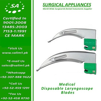Medical Disposable Laryngoscope Blades