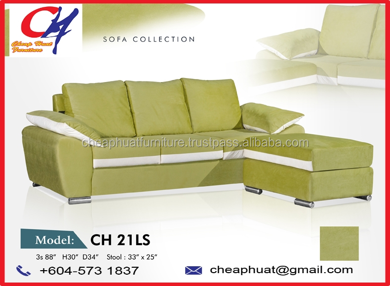 Malaysia Living Room Modern Fabric Sofa Furniture Set Ch 21