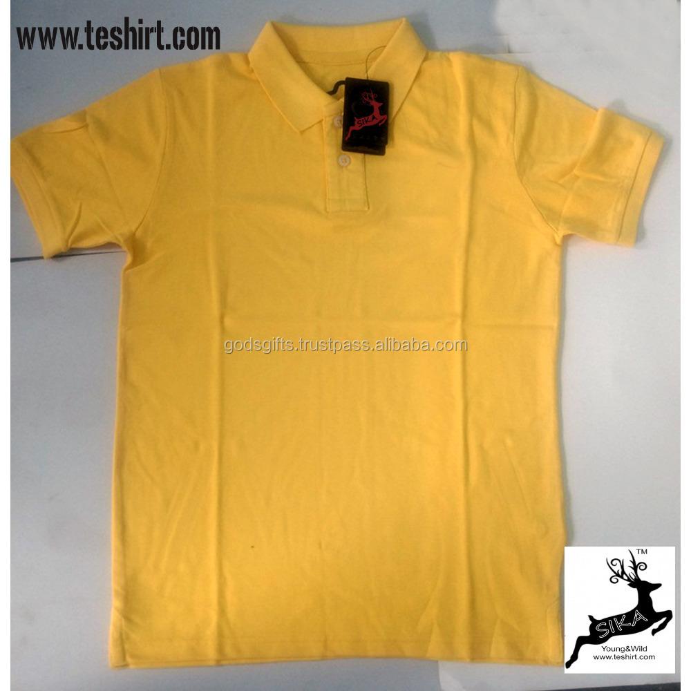 93e8e51037188 Plain Dyed Pique Polo T Shirts Cheap Wholesale Tirupur India - Buy ...