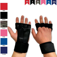 Cross Training Fitness Gloves - Unique Strong Hand Protectors With Wrist Brace - Comfortable Grips For Gymnastics And