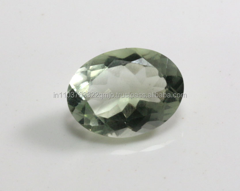 A+++ Natural Original Green Amethyst 6CTS Oval14x10 Gemstone