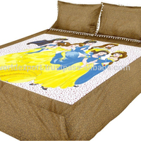 100% cotton kids bedding set wholesale printing bedding set printed bedsheet sets made in india jaipur