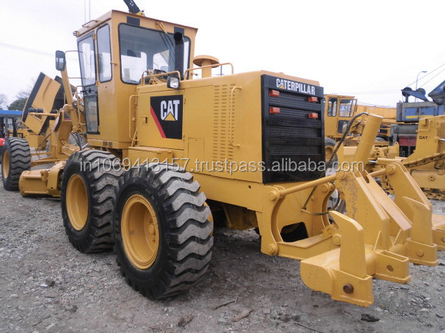 Brand Used in good condition CAT 140H Grader /Used CAT 14H 140 140G 12G 120K 140H Caterpillar Grader whatsapp008618655430531