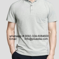 High Quality 100 Cotton Pique Men