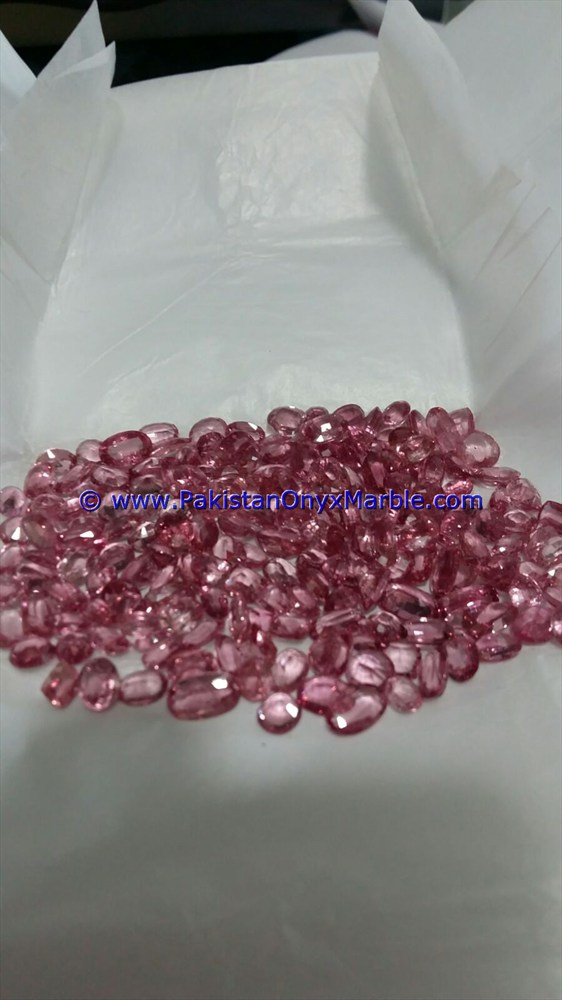 PINK SPINAL FACETED GRADE CUT BEAUTIFUL NATURAL PINK SPINEL