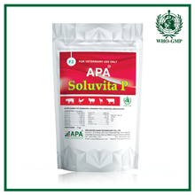 APA Soluvita P | Hot poultry vitamin premix < Vitamin mineral premix > Broiler weight gain medicine