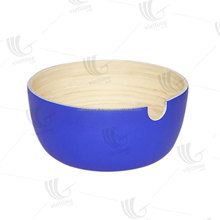Spun bamboo salad and fruit bowl wholesale with cheap price