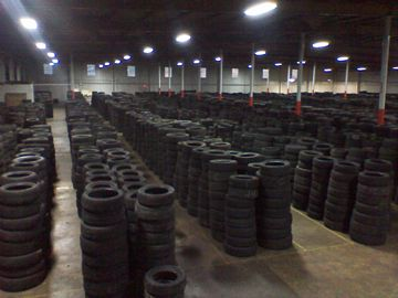 Used Car Tyres, Truck Tyres 50MM and above thread leads