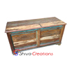 2018 Hot Sale Vintage Reclaimed Wooden Chest Toy Box