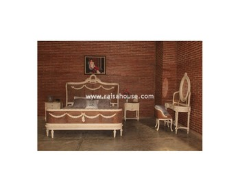 French Furniture Indonesia - Zaena Bedroom Set Furniture Antique Furniture