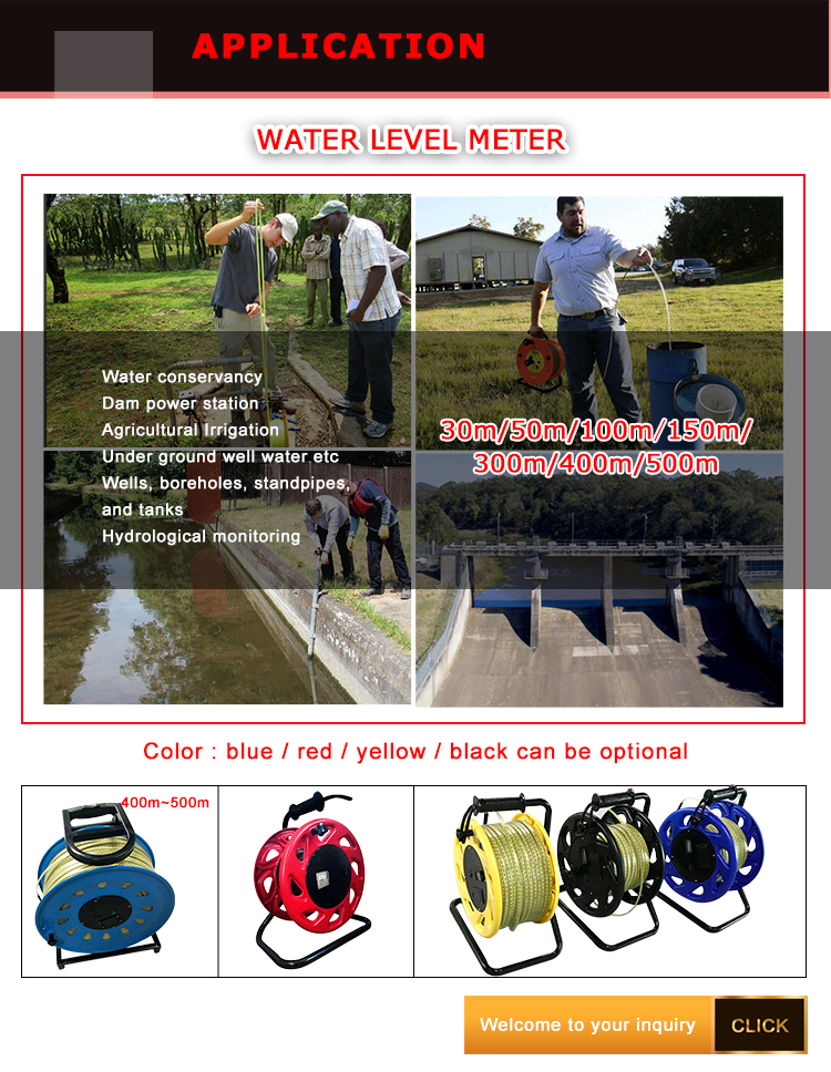 Holykell HLM 500m 600m steel water level sensor/indicator
