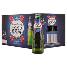 Consecrated french kronenbourg 1664 blanc beer