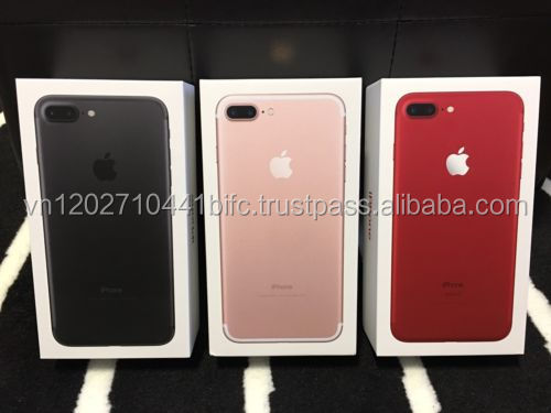 New Arrival For Apple original phone unlocked Red Phone 7 & 7 plus / 6s & 6s + / 64GB 32GB 16GB 128GB Latest Red color