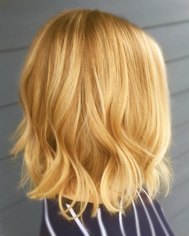 Модное окрашивание волос на светлые волосы