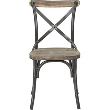 2017 Hot Selling X Back Metal Chair Vintage Industrial X Back Iron Metal Chair Antique Durable X Cross Back Stack able Chair