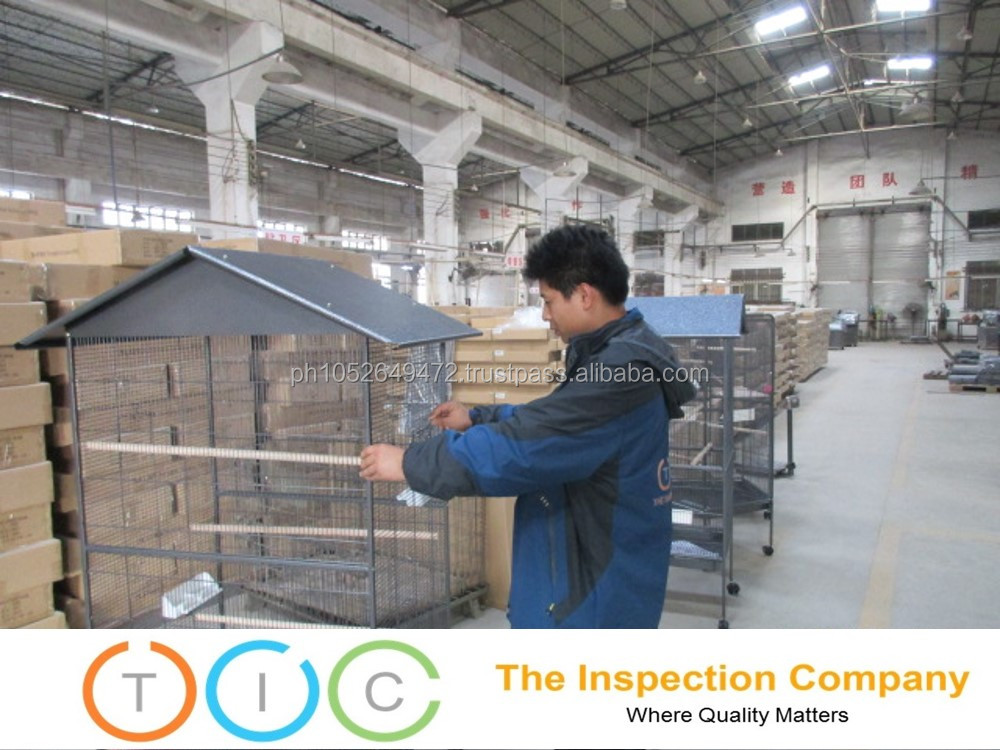 Pre Shipment Inspection for Bird cage in Philippines