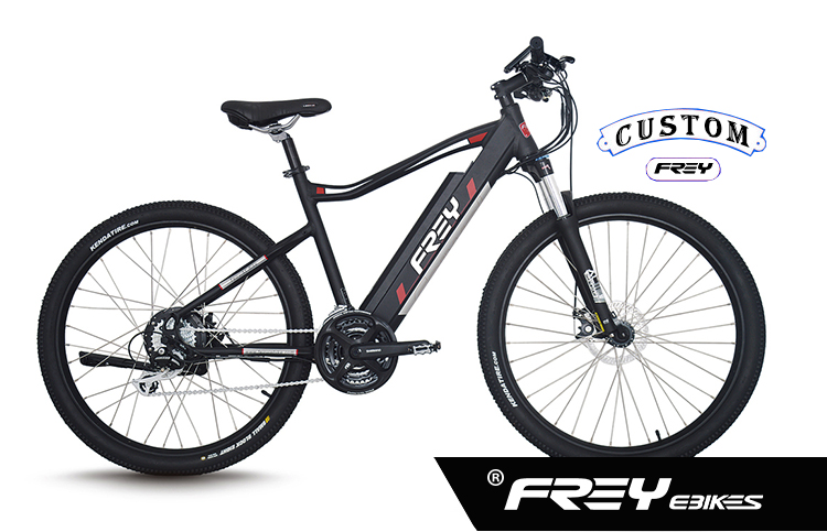 hidden battery electric mountain bicycle
