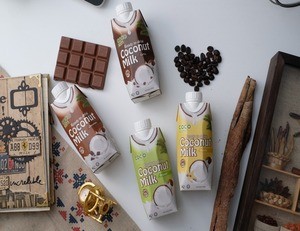 Chocolate Flavored Coconut Milk 330ml