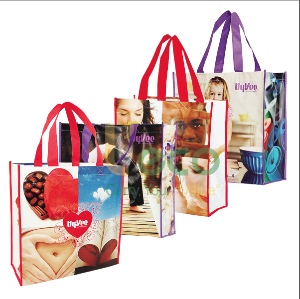 Reusable Laminated Shopping Bag For Promotion