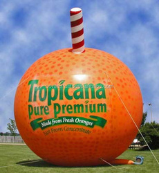 Original Fruit Shape Advertising Inflatable Fruit, Promotional Inflatable Fruit