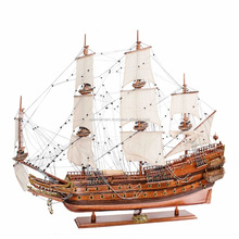 WASA SHIP MODEL- HANDICRAFTED WOODEN SAILBOAT MODEL, HOME ECORATION