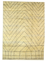 tribal hand knotted berber carpet