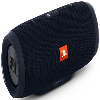 ORIGINAL JBL Charge 3 Waterproof Portable Bluetooth Speaker (Black)