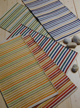 Striped Hand woven Cotton Yoga Rugs Indian,Cotton washable rugs