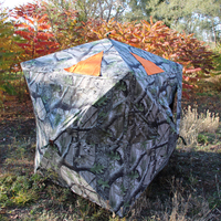 Factory Price Camping Camo Tent Feather Portable Hunting Blind