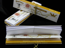 Hornet 70mm Brown 100% Natural Hemp Rolling Cone Paper Smoking Rolling Papers Cigarette Tobacco