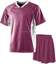 Wholesale sublimation latest jersey football uniforms designs new model youth picture custom blank football