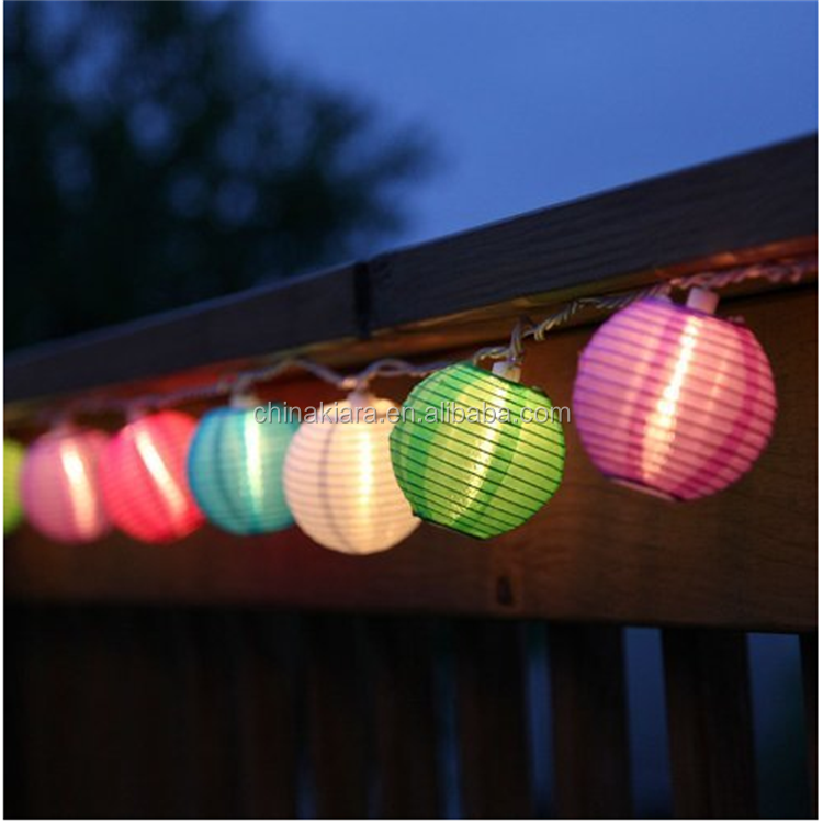 2018 Top Sale Home Party Decoration Paper Lantern Led Lights Battery Operated