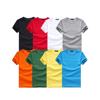 Wholesale 100% cotton round-necked and short-sleeved mens cotton blank t shirts