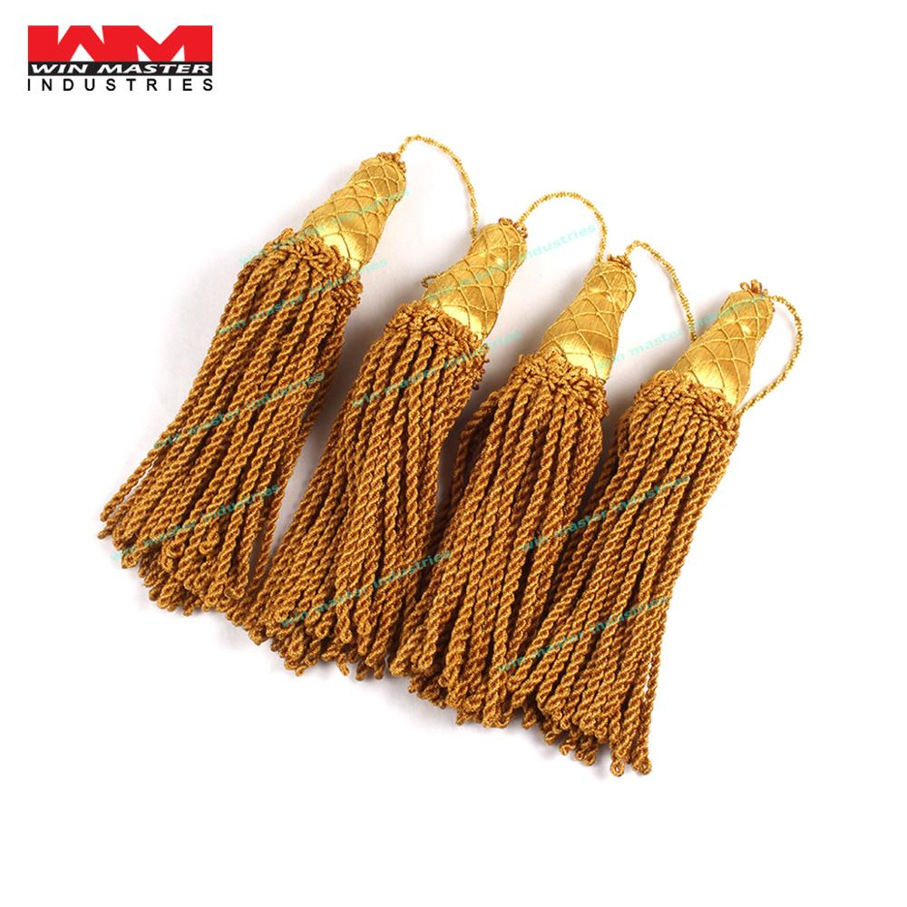 bullion fringes or trim gold tassels