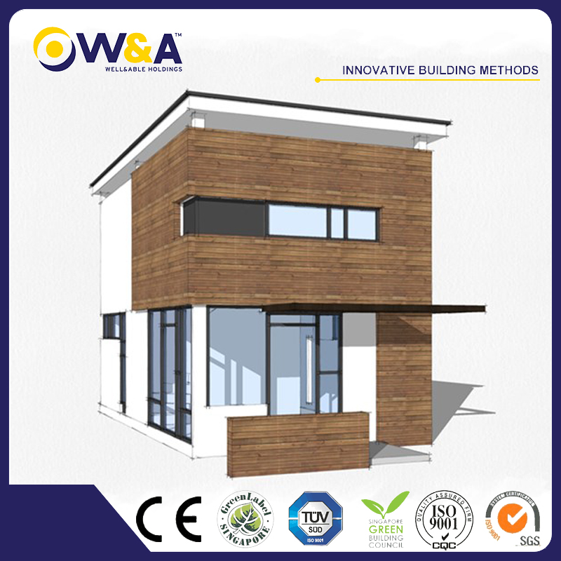 (WAD4002-45S)China Prefabricated Light Steel Structure Townhouse