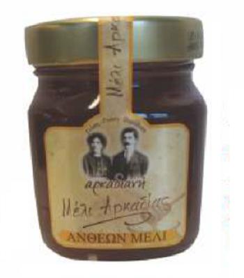 Greek Natural Bee Honey Flower Health Food Product - 400gr