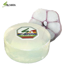 SOLNARA 100% Natural Soap Facial Cleansing for Sensitive and Acne Skin with Garlic Best Korean Skin Beauty Care