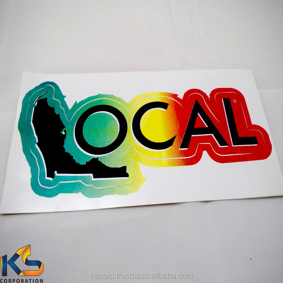 Vinyl decal stickers custom die cut decal car window decal sticker