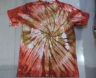 Tie dyed t-shirts lot de couleur lot de conception