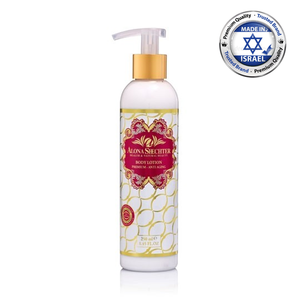 Nourishing Body Lotion - Delicate Body Skin - Based on Original Dead Sea Minerals & Herbal Extracts - Skin Whitening Body Lotion
