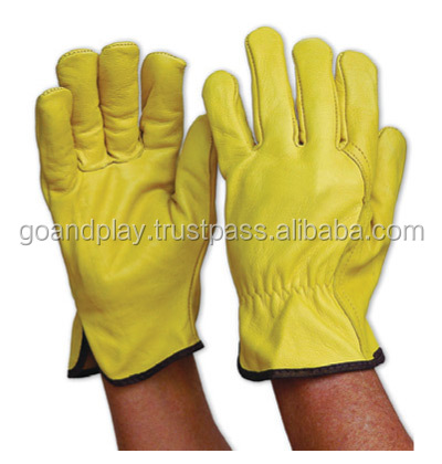 Goat And Sheep Skin Driver Gloves