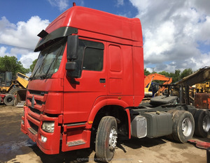Used howo tractor truck for sale Used 6x4 Sinotruk Howo Tractor Head Truck 30-40 ton for sale