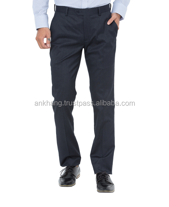Men fashion slim fit dress pants