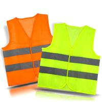 Hi Vis safety vest with reflective 3M tape