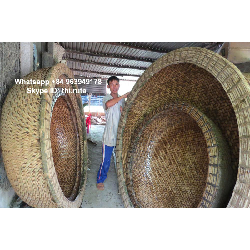 Bamboo Coracle Raft for fishing and traveling