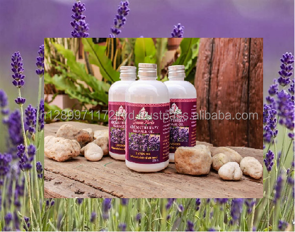 AROMATHERAPY MASSAGE OIL - LAVENDER 100% NATURAL